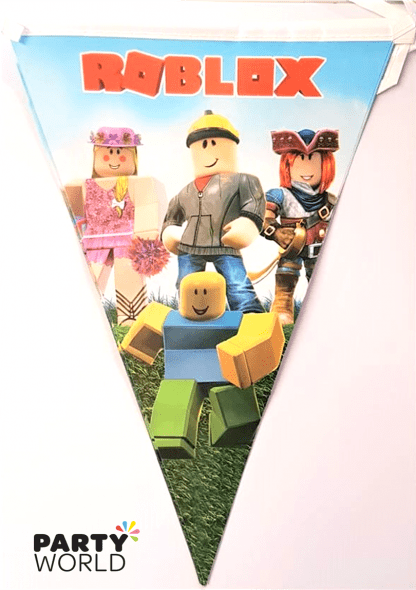 roblox paper flag banner
