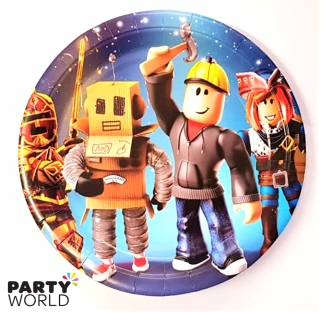 roblox paper plates