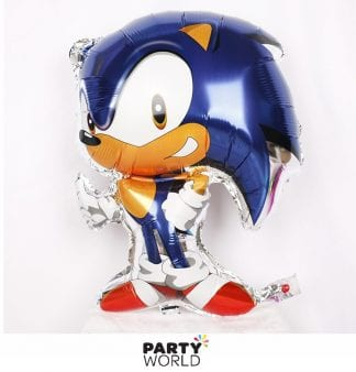 sonic the hedgehog foil balloon shaped