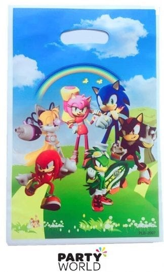 sonic the hedgehog loot bags