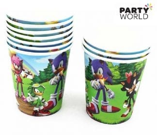 sonic the hedgehog party cups