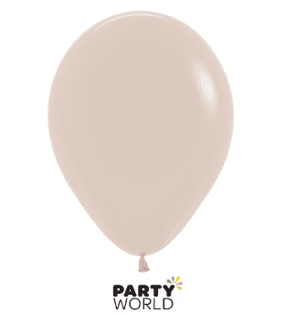 white sand ivory mini latex balloons