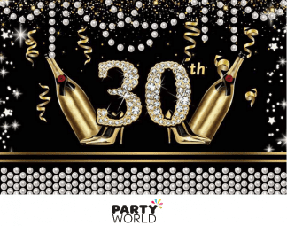 30th birthday backdrop fabric background gatsby themed