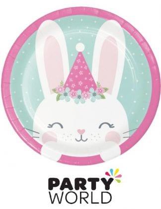Birthday Bunny Party 7inch Paper Plates (8)