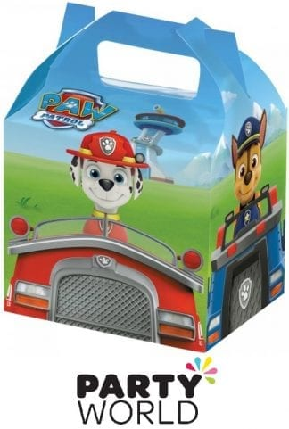 Paw Patrol Adventures Cardboard Treat Boxes (8)