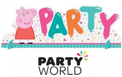Peppa Pig Confetti Party Cardboard Table Decoration
