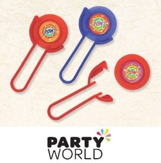 Superhero Party Favours - Disc Shooters (12pk)
