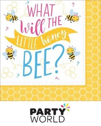 What Will The Little Honey Bee? Paper Luncheon Napkins (16)