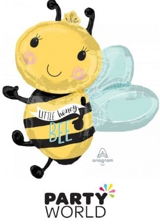 What Will it Bee Little Honey Bee Foil Shaped Balloon