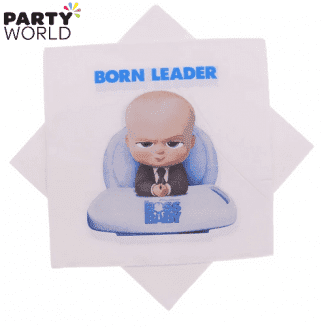 boss baby napkins born leader