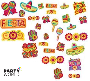 fiesta mexican party cutouts