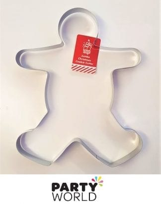 gingerbread man cookie cutter jumbo size