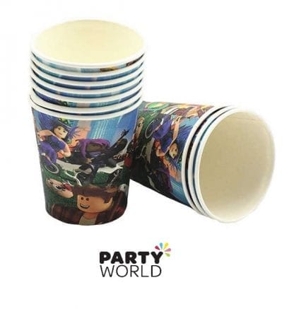 roblox vr paper cups