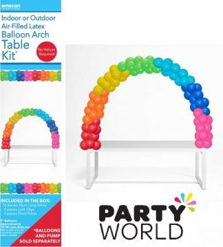 Balloon Arch Decorating Table Kit