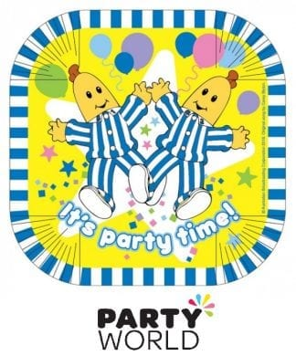 Bananas In Pyjamas Party Square Paper 7in Plates (8)