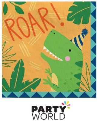 Dino Mite Party Paper Luncheon Napkins (16)