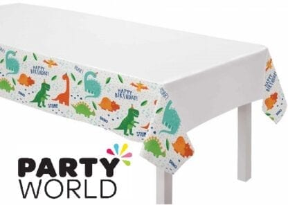 Dino Mite Party Plastic Tablecover