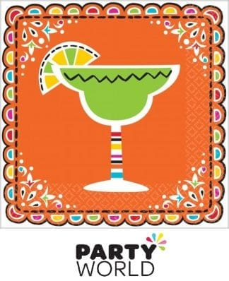 Fiesta Picado de Papel Party Beverage Napkins (36)