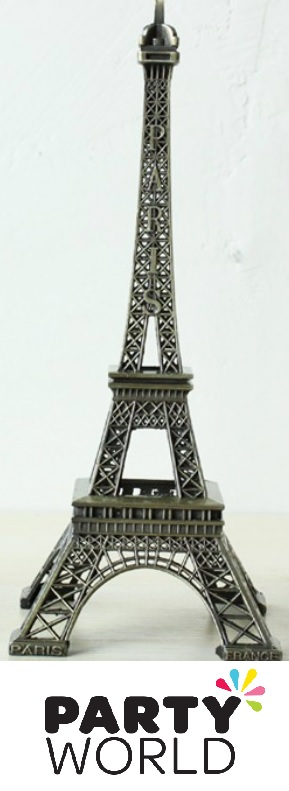 French Party Bronze Metal Eiffel Tower 18cm