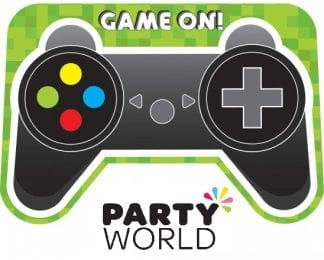 Level Up Gaming Party Postcard Invitations (8)