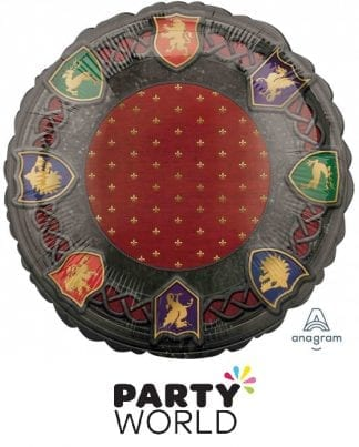 Medieval Design Party Round Foil Balloon