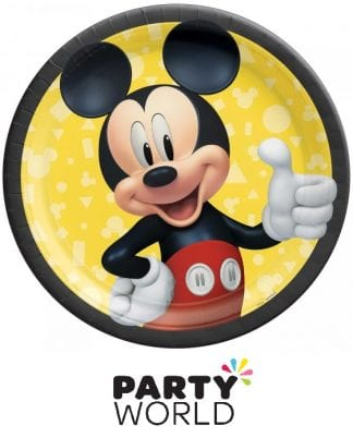 Mickey Mouse Forever Party 9in Paper Plates (8)