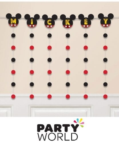Mickey Mouse Forever Party Banner String Decoration Kit