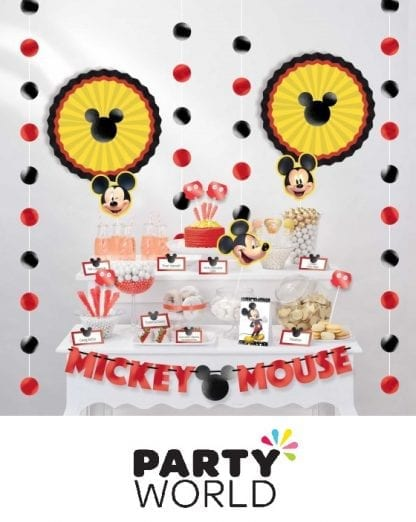 Mickey Mouse Forever Party Buffet Table Decorating Kit