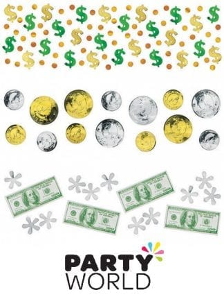 Money Money Foil And Paper Confetti Scatters
