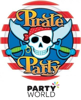 Pirate Party 9in Paper Plates (8)