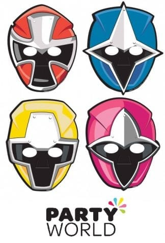 Power Rangers Ninja Steel Party Masks (8)