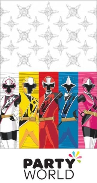 Power Rangers Ninja Steel Party Plastic Tablecover (8)