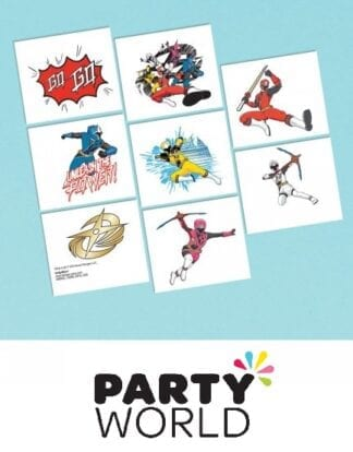 Power Rangers Ninja Steel Party Tattoos (8)