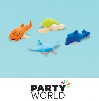 Sea Creature Party Mini Eraser Favours (12)
