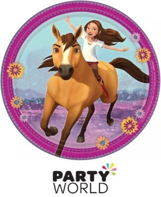 Spirit Riding Free Horse Party 7in Paper Plates (8)