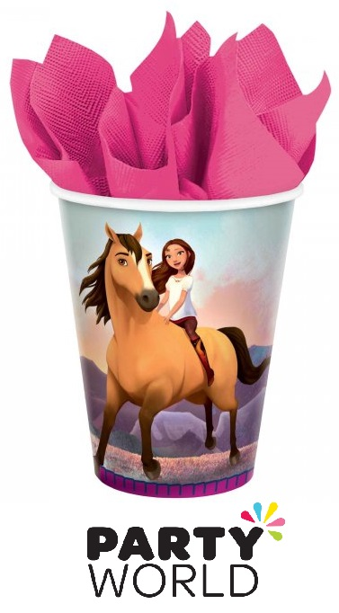 Spirit Riding Free Horse Party 9oz Paper Cups (8)