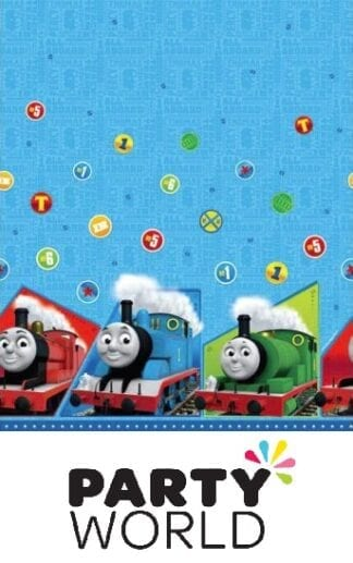 Thomas And Friends Party Plastic Tablecover
