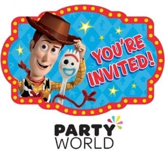 Toy Story Party Postcard Invitations (8)