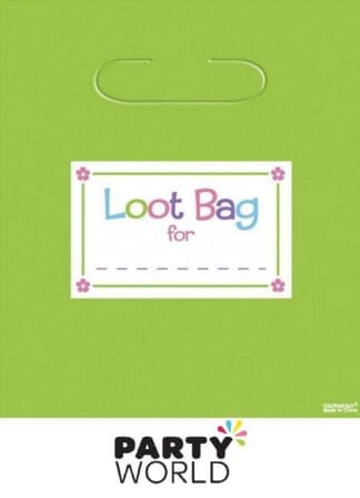 Trendy Assorted Colour Loot Bags (8)