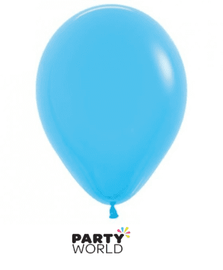 fashion blue balloons