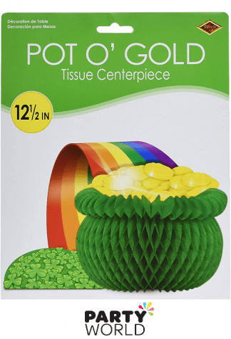 pot o gold tissue centerpiece