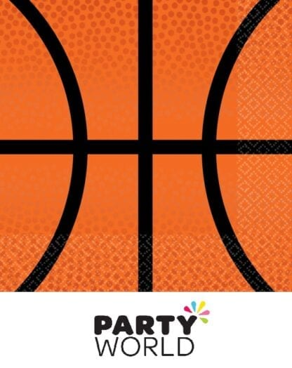 Basketball Party Nothin But Net Beverage Napkins (36)