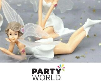 Fairy Party Figurine Decoration With Wings (Lying Down)