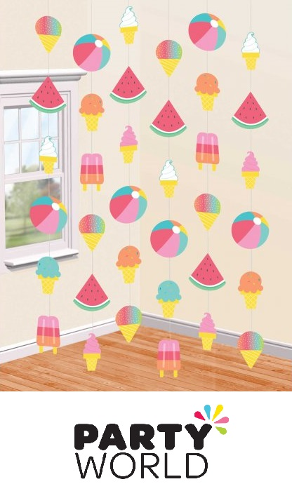 Just Chillin Summer Hanging String Decorations (6)