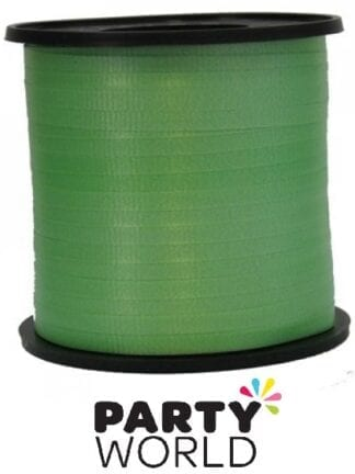 Lime Green Party Curling Ribbon 460m
