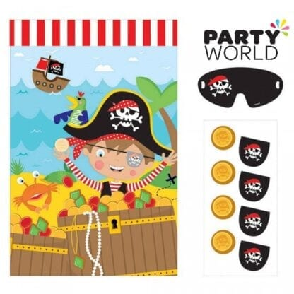 Little Pirate Party Game (2-8 Players)