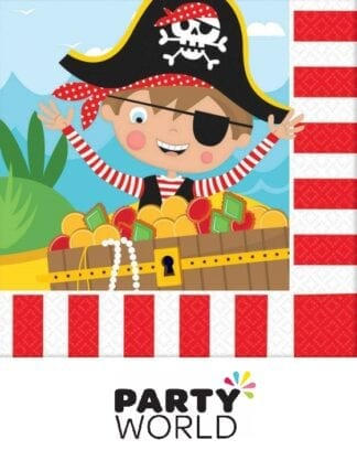 Little Pirate Party Paper Luncheon Napkins (16)