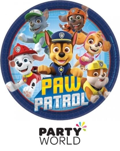 Paw Patrol Adventures Party 7in Round Plates (8)