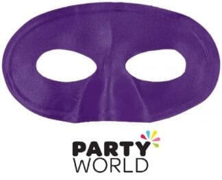 Purple Party Eye Mask