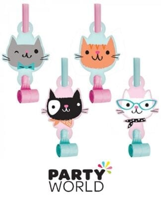 Purr-fect Party Cat Blowouts With Medallions (8)